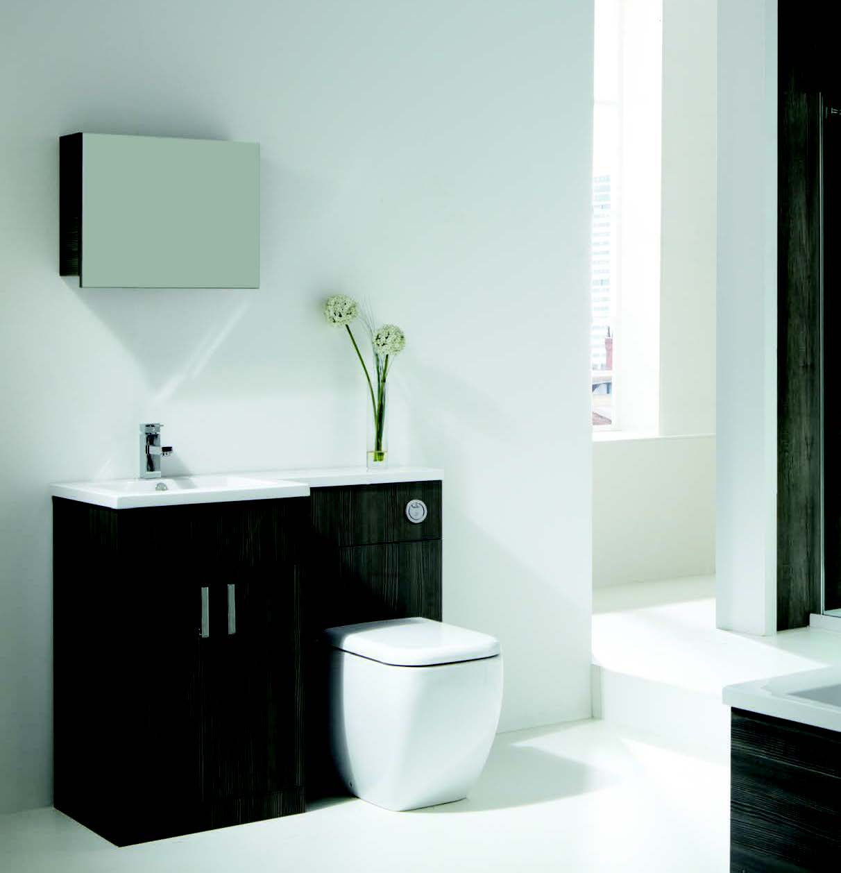 Contemporary bathrooms in North Shields
